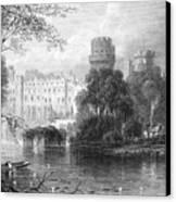 England: Warwick Castle Canvas Print by Granger