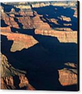 Grand Canyon National Park At Sunset Canvas Print by Pierre Leclerc Photography