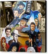 Nashville Honky Tonk Canvas Print by Barbara Teller