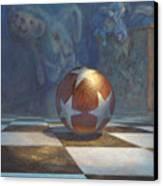 The Ball Canvas Print by Leonard Filgate