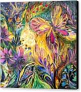 The Life Of Butterfly Canvas Print by Elena Kotliarker