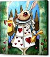 The White Rabbit Canvas Print by Lucia Stewart