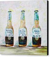 Three Amigos Canvas Print by Barbara Teller