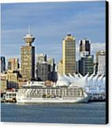 Vancouver Skyline Canvas Print by John Greim