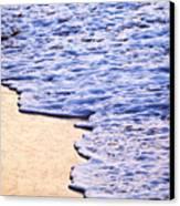 Waves Breaking On Tropical Shore Canvas Print by Elena Elisseeva