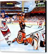 2012 Bridgestone-nhl Winter Classic Canvas Print by Dave Olsen