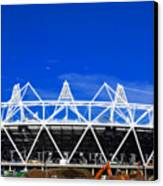 2012 Olympics London Canvas Print by David French