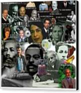 Major Inventors And Scientists Canvas Print by Purpose Publishing