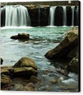 Falling Water Falls Canvas Print by Iris Greenwell