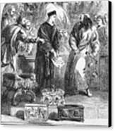 Merchant Of Venice Canvas Print by Granger