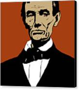 President Lincoln Canvas Print by War Is Hell Store