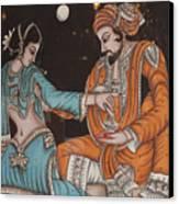 Rubaiyat Of Omar Khayyam Canvas Print by Carl Purcell