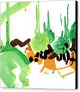 Stylish Canvas Print by Natoly Art