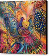 The Magic Garden Canvas Print by Elena Kotliarker