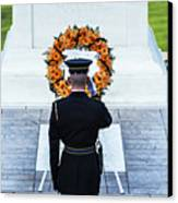 Tomb Of The Unknown Soldier Canvas Print by John Greim
