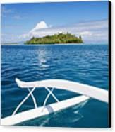 View Of Tahiti Canvas Print by Joe Carini - Printscapes