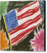 4th Of July Canvas Print by Jessika and Art with a Heart In Healthcare
