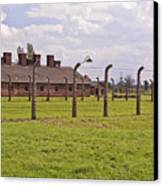 Auschwitz Birkenau Concentration Camp. Canvas Print by Fernando Barozza