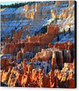 Sunset Point In Bryce Canyon Canvas Print by Pierre Leclerc Photography