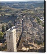 San Gimignano Canvas Print by Andre Goncalves