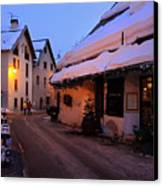 Serre Chevalier In The French Alps Canvas Print by Pierre Leclerc Photography