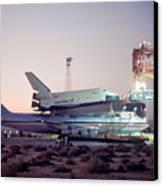 747 With Space Shuttle Enterprise Before Alt-4 Canvas Print by Brian Lockett