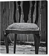 A Chair In Despair Canvas Print by DigiArt Diaries by Vicky B Fuller