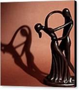 A Couples Dance Canvas Print by Cherie Duran
