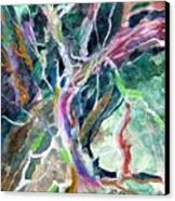 A Dying Tree Canvas Print by Mindy Newman