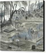 A Fond Memory... No. Two Canvas Print by Robert Meszaros