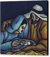 A King Is Born Canvas Print by Kamil Swiatek