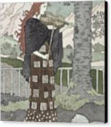 A Musician Canvas Print by Eugene Grasset