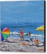 A Summer Canvas Print by Laura Lee Zanghetti