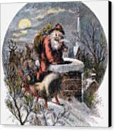 A Visit From St Nicholas Canvas Print by Granger