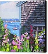 A Visit To P Town Jr Canvas Print by Laura Lee Zanghetti