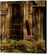 Abandoned Canvas Print by Bonnie Bruno