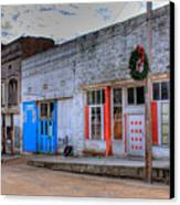 Abandoned Main Street Canvas Print by Douglas Barnett