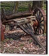Abandoned Wagon Canvas Print by Tom Mc Nemar