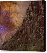 Aboriginal Dreamtime Canvas Print by Charles Warren