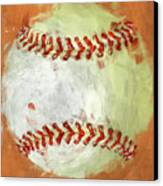 Abstract Baseball Canvas Print by David G Paul