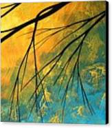 Abstract Landscape Art Passing Beauty 2 Of 5 Canvas Print by Megan Duncanson