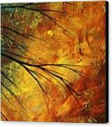 Abstract Landscape Art Passing Beauty 5 Of 5 Canvas Print by Megan Duncanson