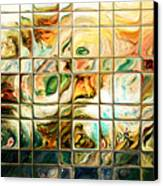 Abstract-through Glass Canvas Print by Patricia Motley