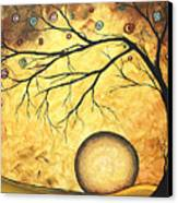 Across The Golden River By Madart Canvas Print by Megan Duncanson