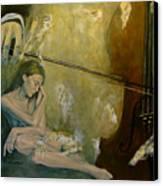 Adagio  Sentimental Confusion Canvas Print by Dorina  Costras
