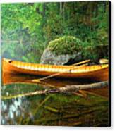 Adirondack Guideboat Canvas Print by Frank Houck