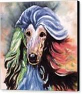 Afghan Storm Canvas Print by Kathleen Sepulveda