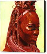 African Beauty Canvas Print by Enzie Shahmiri