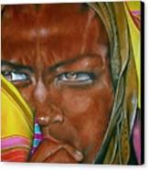 African Princess Canvas Print by Ralph Lederman