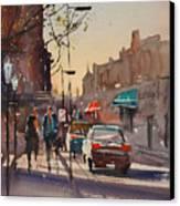 Afternoon Light Canvas Print by Ryan Radke